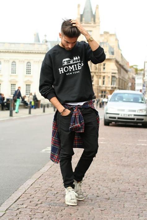 moletom-camisa-xadrez-street-style