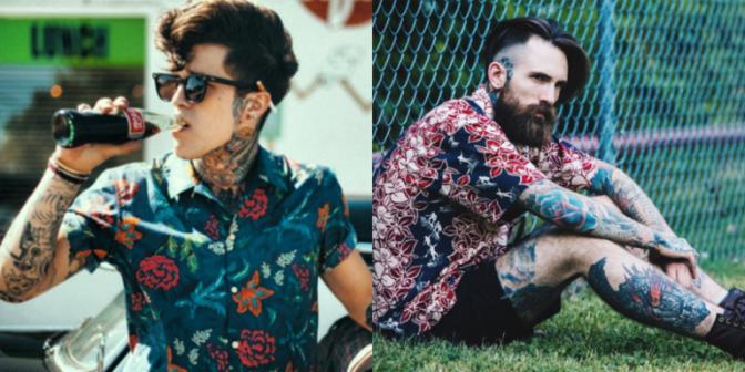 Camisas Masculinas com Estampas 2017: Tendências, Novidades na Moda e Look!