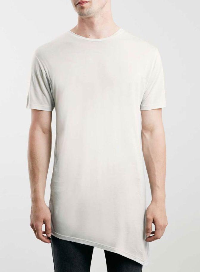 Camisetas assimétricas